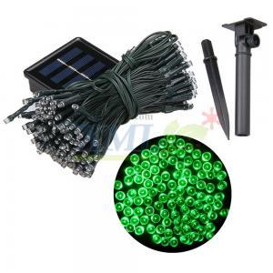 ไฟกระพริบโซล่าเซลล์ 200 LED (8 ฟังก์ชั่น) (เเสง : สีเขียว)