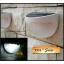 โคมไฟโซล่าเซลล์ ติดผนัง 6 LED ทรง ครึ่งวงกลม (เเสง : ขาว) thumbnail 2