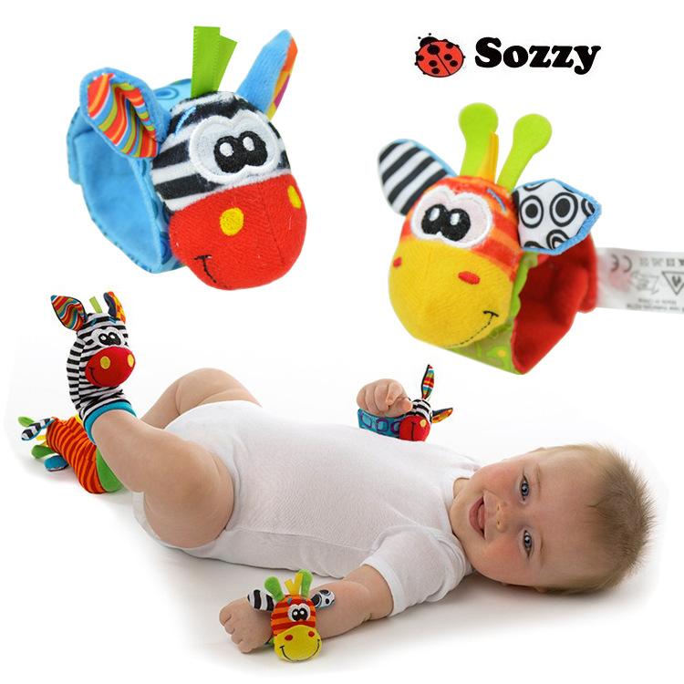 ถุงเท้า-ข้อมือ เสริมพัฒนาการ Sassy ส่งฟรี!!