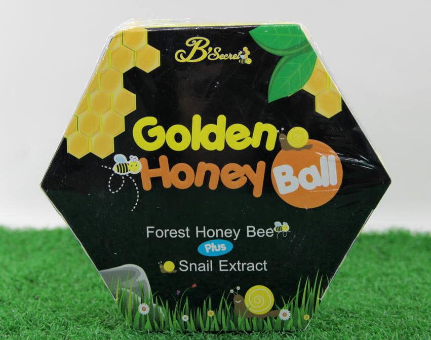 มาส์กลูกผึ้ง B'Secret Golden Honey Ball