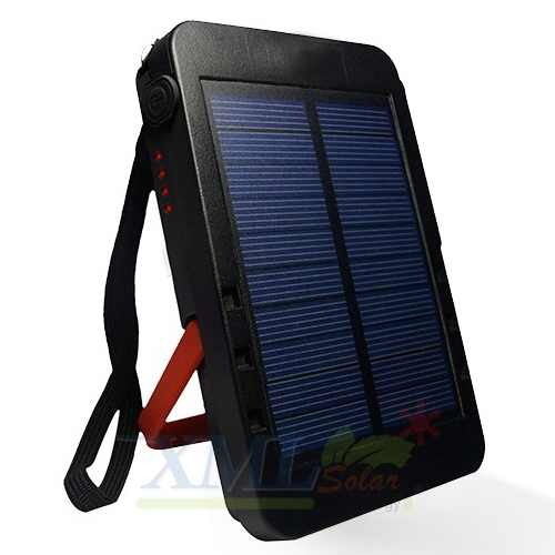 Solar power bank with Torch