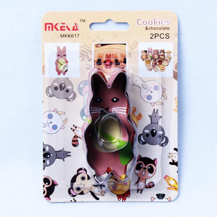 พิมพ์กดคุ๊กกี้ 3 มิติ รูป Miffy