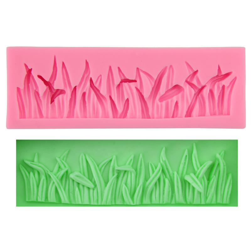 ซิลิโคนสำหรับทำฟองดองท์ กัมเพส รูปต้นหญ้า