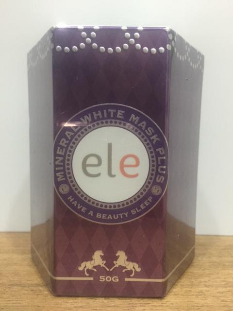 ครีมมาร์คหน้า ELE Mask หรือ ELE Cream Mask (ELE Mineral White Mask Plus)