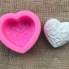 ซิลิโคนสำหรับทำฟองดองท์ กัมเพส รูปหัวใจ