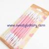 อุปกรณ์ตกแต่งฟองดองท์ (Gum Paste Tool Set) คละสี