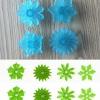 ที่พิมพ์ลายฟองดองท์ พิมพ์กดคุกกี้ ลายดอกไม้ (ใหญ่) 4 ชิ้น/เซต