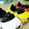 ส่งฟรี รถแบตเตอรี่เด็กนั่งไฟฟ้า รุ่น LN5618 ยี่ห้อ bmw เปิดประตูได้ 2 แบต 2 มอเตอร์