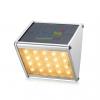 โคมไฟโซล่าเซลล์ ติดผนัง ทรงสามเหลี่ยม 20 SMD LED (เเสง : เหลืองวอมไวท์)
