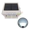 4 LED solar panel light (white light)