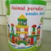 Animal Paradise Wooden Blocks 40 Pcs.