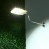 Solar panel light 12 LED with aluminium bracket (White light)