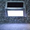 ไฟโซล่าเซลล์ติดบันได 2 LED V.2 (แสง : ขาว)