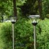 ไฟปักสนามโซล่าเซลล์ 8 Super SMD LED สูง 140 ซม. (เเสง : ขาว)
