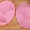 พิมพ์ซิลิโคน พิมพ์วุ้น ช็อคโกแลต รูปไก่ และไข่ 2 ช่อง