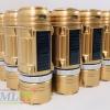 โคมไฟตะเกียงโซล่าเซลล์ + ไฟฉาย (สีทอง)