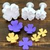 ที่พิมพ์ลายฟองดองท์ พิมพ์กดคุกกี้ Clover four flowers 3 ชิ้น/เซต