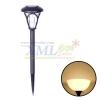 1 LED solar garden light, small brown lamp (Warm white)
