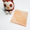 ถุงเบเกอรี่ ถุงขนมปัง แบบมีเทปกาว สีเบส 100 ใบ/ห่อ (10*10+3 cm.)