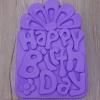 พิมพ์ซิลิโคน รูป Happy Birth Day 31*21*5.5 cm.