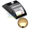 Solar lighting way with sensor (black) (warm white light)