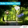 ไฟปักสนามโซล่าเซลล์ 1 LED ทรงเพชร (เเสง: เหลืองวอมไวท์)