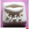 พิมพ์ซิลิโคน พิมพ์สบู่ รูป KISS (น้ำหนักสบู่ : 70 G)