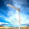 โคมไฟถนนโซล่าเซลล์ 40 LEDs 15 Watt Polycrystalline + Motion (แสง ขาว)(XML-SL18)
