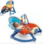 เปลโยก Newborn-to-Toddler Portable Rocker มีเสียงเพลง