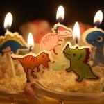 เทียนวันเกิด รูปไดโนเสาร์ 5 ชิ้น/แพ็ค