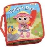 หนังสือผ้า Lamaze [Emily's Day] (ปกเด็กผู้หญิงตัวน้อย)