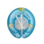 ห่วงยางพยุงหลังล็อค 2 ชั้นสีฟ้า Swimming Trainer สุดฮิต (6 เดือน - 2 ขวบ) ลายการ์ตูน