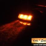 ไฟหมุดถนนโซล่าเซลล์ 6 LED (เเสง : เหลืองค้าง)