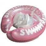 ห่วงยางพยุงหลังล็อค 2 ชั้นสีชมพู Swimming Trainer สุดฮิต (6 เดือน - 2 ขวบ)