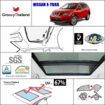 NISSAN X-Trail Sunroof (2 pcs)