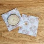 ถุงเบเกอรี่ ถุงขนมปัง แบบมีเทปกาว สีขาว 100 ใบ/ห่อ (10*10+3 cm.)
