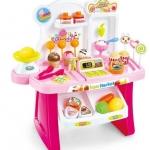 ชุดโต๊ะซุปเปอร์มาร์เก็ตไอศครีม (สีชมพู) ส่งฟรี !!