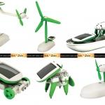 ของเล่นพลังงานแสงอาทิตย์ รุ่น 6-in-1 (สีเขียว)