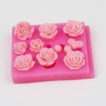 โมล พิมพ์ซิลิโคน พิมพ์วุ้น รูปดอกมะลิ
