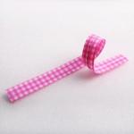 ลวดมัดปากถุง สีชมพู 500 ชิ้น/ห่อ (ยาว 12 ซม.)