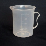 ถ้วยตวง ของเหลว พลาสติก ขนาด 250 ml