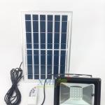 ไฟสปอตไลท์โซล่าเซลล์ 10 Watt (กล่องเขียว) (เเสง : ขาว)