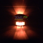 ไฟหมุดถนนโซล่าเซลล์ 6 LED (เเสง : แดงกระพริบ)