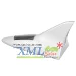 ครีบฉลามโซล่าเซลล์ (ติดหลังคา รถยนต์) สีขาว