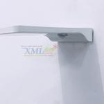 โคมไฟผนังโซล่าเซลล์ 36 SMD LED + Motion (โคมแบนขาว) ตัวเล็ก (แสง: ขาว)