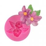 โมล พิมพ์ซิลิโคน รูปดอกไม้ (พิมพ์ 2 มิติ)