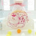 ถุงเบเกอรี่ ถุงขนมปัง แบบมีเทปกาว 100 ใบ/ห่อ (10*10+3 cm.)
