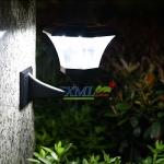 โคมไฟกิ่งโซล่าเซลล์ 8 Super SMD LED ทรง หกเหลี่ยม (เเสง : ขาว)