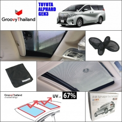 TOYOTA ALPHARD Gen3 2015-Now Sunroof (2 pcs)