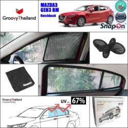 MAZDA 3 Gen3 BM 2014~Now Hatchback (SnapOn - 4 pcs)